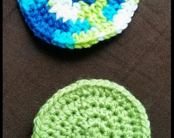 Round Coasters (set of 2)