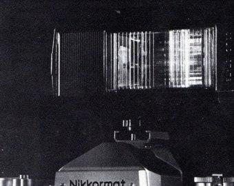 Nikkormat GN Auto Nikkor 454mm F2.8 Lens Brochure