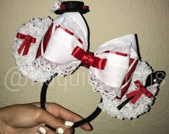 Mary Poppins Ears, Mary Poppins Mickey Ears, Mary Poppins Minnie Ears, Mary Poppins Mouse Ears, Mickey Ears