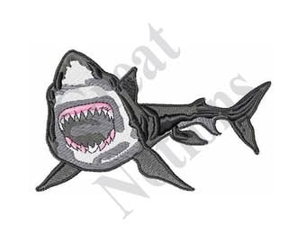 Great White Shark - Machine Embroidery Design