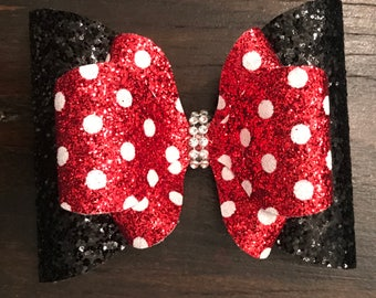 Minnie Inspired Dolly/Franchi Bow