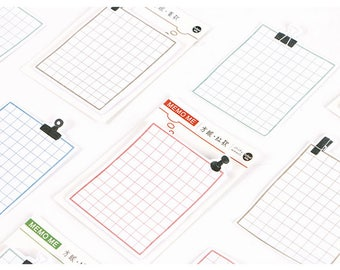 Squared Post It notes | Squared Sticky Notes | Memo pads | Memo Notes