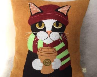 Latte Macchiato (CAT in the winter)