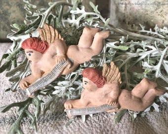 vintage tragacanth angel xmas tree ornament brocante extraordinary xmas decoration