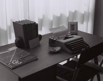 35mm Film Photography Print - Typewriter