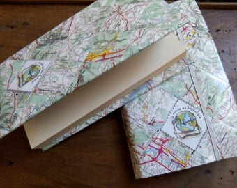 Protects Pocket Books, maps map
