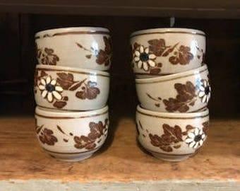 OMC Japanese Tea Cups (Set of 6)