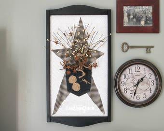 Rustic star decor | Etsy