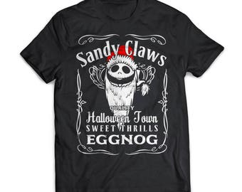 Sandy Claws | Nightmare Before Christmas |  Gift | Shirt | T-Shirt | Nightmare Before Christmas |