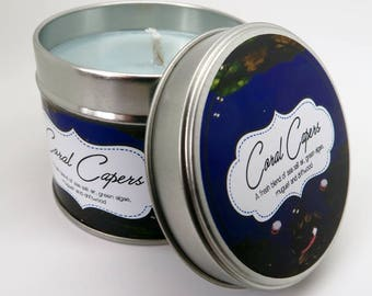 Donkey Kong Country - Coral Capers inspired Scented Candle