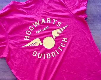 Harry Potter shirt, Universal studios, Quidditch, Harry Potter
