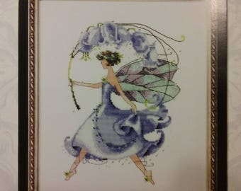 New Mirabilia Cross Stitch Pattern - Bluebell from Spring Garden Party Collection for Pixie Couture ny Nora Corbett