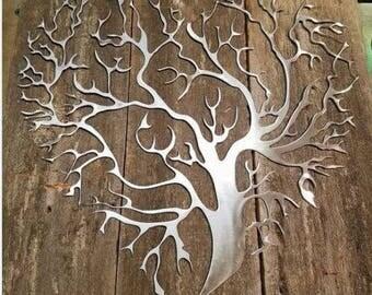 """17"""" Heart Shaped Tree of Life"""