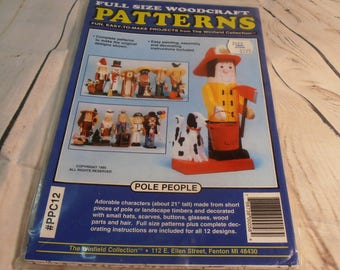 full size woodcraft patterns from the winfield collection pole people 12 designs