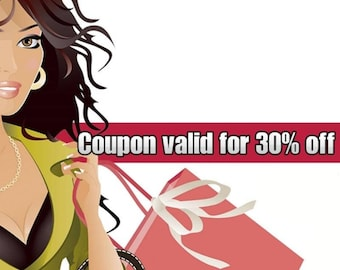 Coupon valid for 30% off