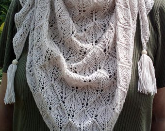 shawl handmade in France