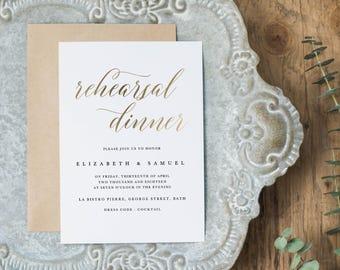 Wedding Rehearsal Dinner Printable, Rehearsal Dinner Invitation Template, DIY Rehearsal Dinner Invite Template Instant Download - KPC03_503