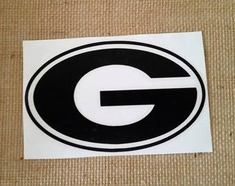UGA decal, University of Georgia decal, Georgia Bulldogs Decal, Georgia Football, Georgia Yeti Decal