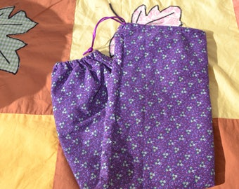 """Drawstring """"Bag"""" Bag - for holding plastic grocery/produce bags"""