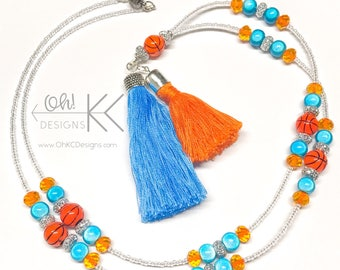 OKC Thunder Lanyard/Tassel Necklace