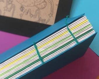 Handmade Sketchbook (Blue)