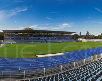 Jena Stadion – Poster 240 x 100 cm – High-quality FineArtPrint