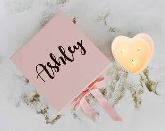 Bridesmaid Gift box, bridesmaid box,  bridesmaid gift, bridesmaid thank you, birthday gift box, birthday gift