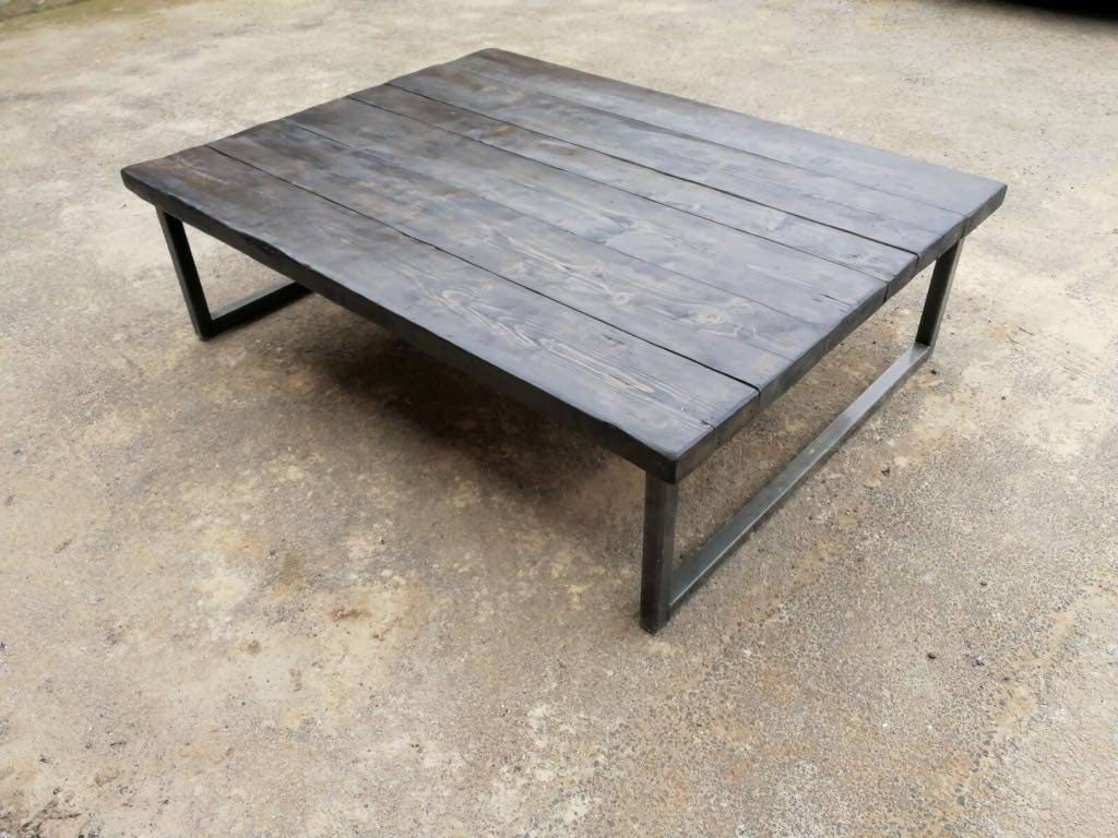 Industrial chic coffee table geotapseo Images