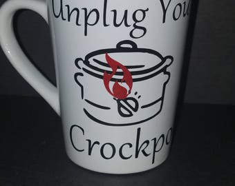"""This cup is inspired by the hit show """"This Is Us""""! RIP Jack Pearson #unplugyourceockpot #imnotcryingyourecrying, Great gift for fans!"""