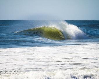 Wave Print Photography