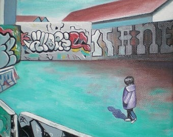 LANDSCAPE urban III - Painting street art