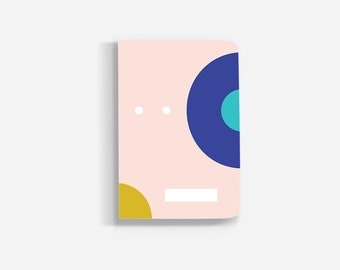 Deseos Notebook, Pastel Color Notebook, Minimalist Journal, Intention Setting Journal, Cute Notebook Journal, Goal Setting Notebook