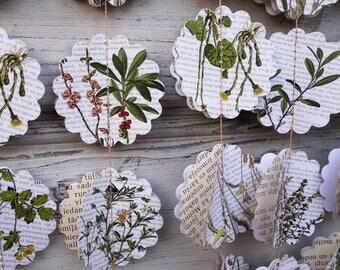 Green paper garland, Flower paper garland, Flower wedding shower, Flower weddings, Flower baby shower, Photo background, Guirlande de fleurs