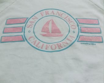 Vintage 80s san francisco california sweatshirts