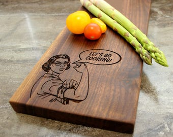 Personalized Cheese Board, Serving Board, Bread Board, Custom, Engraved, Wedding Gift, Housewarming Gift, Anniversary Gift, Engagement #11
