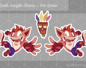 Crash Bandicoot Charm
