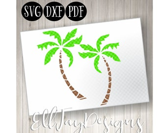 Beach SVG, palm trees, cut files, beach files, summer cut files, summer SVG, monogram svg, Beach summer, palm, tropical cut fies, summer cut