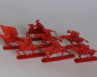 Soldiers of the plastic ussr, soldiers Chapaevsky, soldiers riders, Bolsheviks, revolutionaries, toys of Russia, a set of horsemen