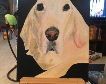 Animal portrait painting