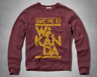 Take me to Wakanda - Black Panther Crewneck sweatshirt