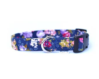 Ditsy Floral Dog Collar