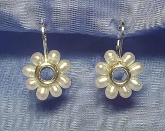 Daisy Freshwater Pearl Earrings