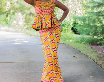 Kente  Three Piece Wrapper