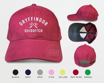 Gryffindor Quidditch 1092 Baseball Caps Harry Potter Gryffindor Caps