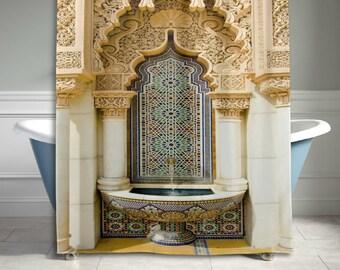 Gold Palace Tür Dusche Vorhang Badezimmer Dekor Home Dekor