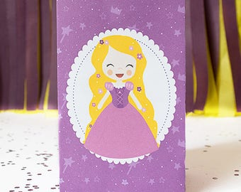 Rapunzel candy box