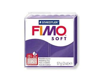 Polymer clay Fimo Soft 57 g - n - 63 plum