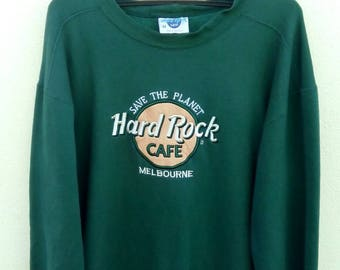 Rare!! hard rock sweatshirt
