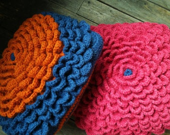 knit pillow, bright colors, bright accent, decorative pillows, interior, cozy, hug,set, summer outdoors