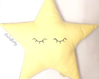 Star shape pillows